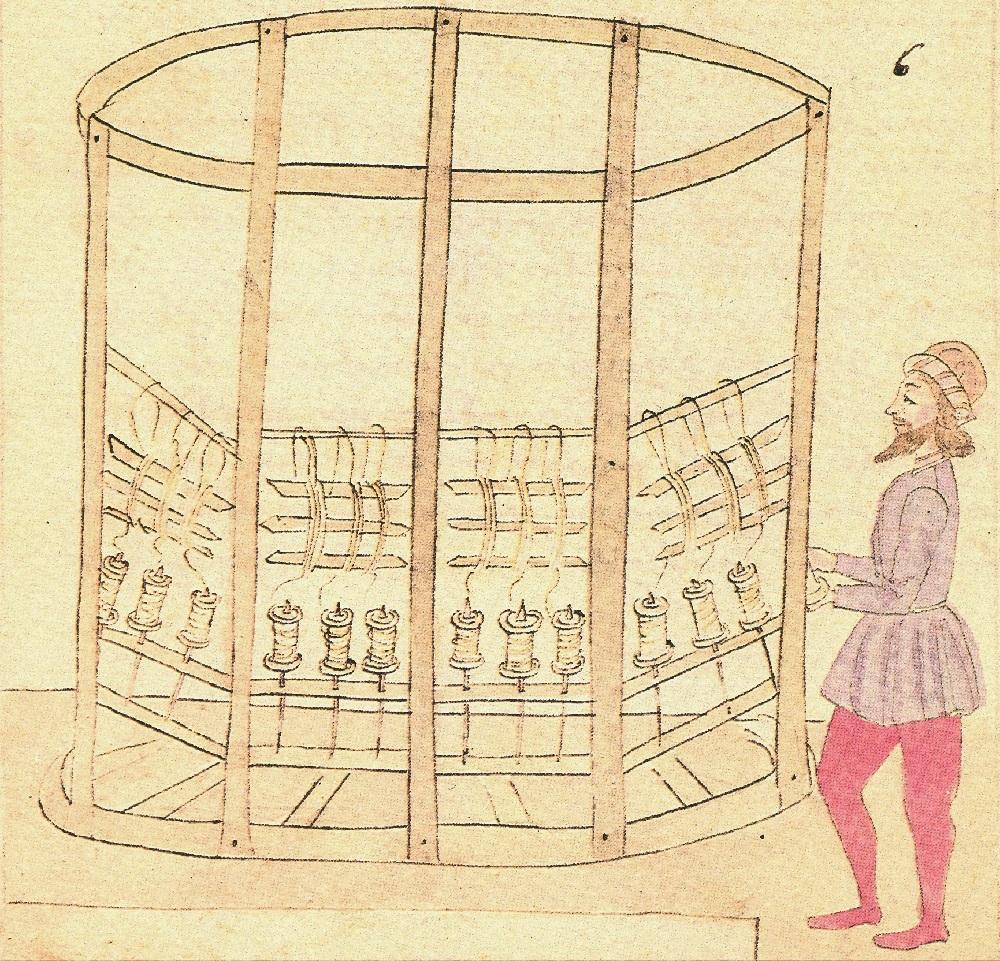 2)Torcitoio circolare sec XIII -1486 Arte d. Seta - Firenze