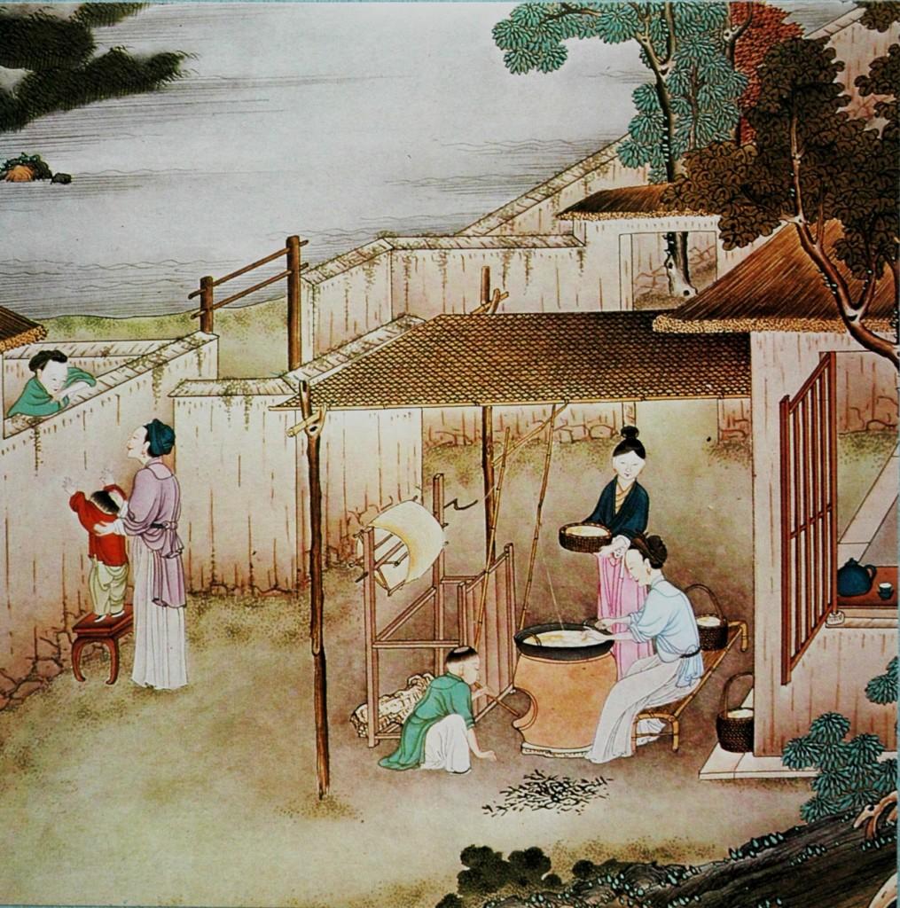 filatura seta Cina secXIII-XVII 6